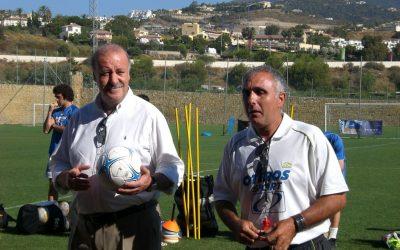 Vicente del Bosque y Fernando Hierro visitan el VI Campus